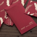Red Envelope Made Hot Stamping Of Logo